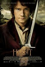 """THE HOBBIT AN UNEXPECTED JOURNEY 2012 Original DS 2 Sided 27X40"""" Movie Poster"""