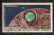FRENCH NEW CALEDONIA 1962 SPACE SATELITE SC # C33 MNH