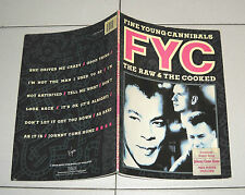 Spartiti Songbook FYC FINE YOUNG CANNIBALS The raw & the cooked Piano Vocal