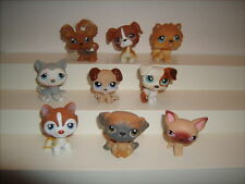9 Dog Littlest Pet Shop Puppy Dogs LPS -Husky and More Nice Shape
