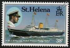 Her Majesty's Yacht (HMY) BRITANNIA (1957 Prince Philip) Roal Yacht Ship Stamp