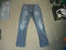 "Jeff Banks Relaxed Fit Jeans Waist 32"" Leg 32"" Faded Dark Blue Mens Jeans"