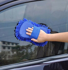 1 pcs Car hand soft towel microfiber chenille coral fleece  washing gloves tool