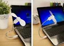 Flexible USB Mini Cooling Fan Cooler For Laptop Desktop PC Computer  GRAU