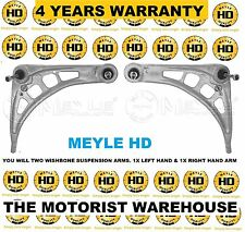 BMW E46 318 320 323 325 M TECH 2X FRONT LOWER CONTROL ARMS WISHBONE MEYLE HD NEW