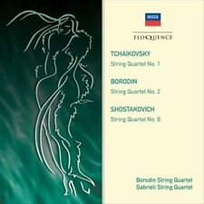 Borodin/Gabrielli Stg Qtet-String Quartets CD NEW
