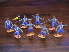 Timpo 1st Series Confederates - Complete Set - Toy Soldiers - 1960's