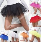 Womens TUTU Black White + 4 Layer Tutu Underskirt Petticoat Fancy Dress 8-16
