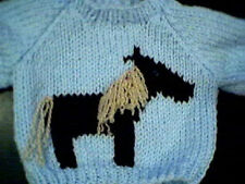 Customized Horse Sweater Handmade for 16 in Cabbage Patch Kid Doll Made in USA