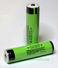 1 pcs Panasonic NCR 18650B  3400mAh 3.6V Li-Ion Battery Cell Protected  (PCB)