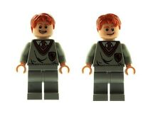 LEGO Harry Potter Fred & George Weasley Gryffindor Minifigs Custom Using LEGO