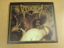 DIGIPACK CD / GRUESOME MASTERPIECE - BLIKSEM