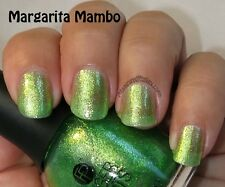 NEW FingerPaints Nail Color MARGARITA MAMBO - Finger Paints polish GREEN SHIMMER