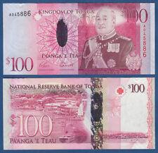 TONGA  100 Pa`anga (2008) UNC  P.43