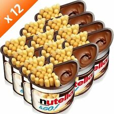 Ferrero Nutella & Go (pack of 12) NEW