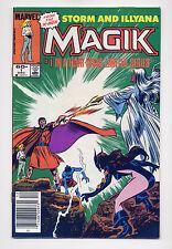 Magik #1 of 4 mini VF+ 1983 ~ Fast Shipping ~  Marvel Comic Book magic x-men