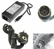 me Alimentatore trasformatore 12V 5V 2A power adapter mini din 6 pin ps2 kycon
