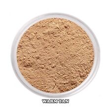 NudiSkin Aloe Vera Mineral Foundation Bare Sheer Powder Makeup Warm Tan - Sample