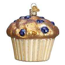 """""""Blueberry Muffin"""" (32263) Old World Christmas Glass Ornament"""
