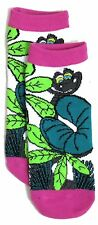 LADIES DISNEY THE JUNGLE BOOK KAA SHOE LINERS SOCKS UK 4-8 EUR 37-42 US 6-10