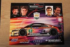 2016 IMSA Stevenson AUDI R8 Hero Card Le Mans Rolex 24 Hours at Daytona