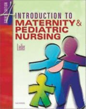 Introduction to Maternity and Pediatric Nursiing PB Good Cond. Free Shipping