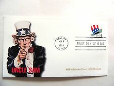 """November 9th, 1998 """"Uncle Sam"""" First Day Issue Lot F"""