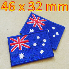 1x Australia Australian Flag Embroidered Iron On Patch Sydney Canberra Melbourne