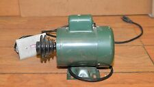 Vintage lathe drill press motor with 3 step pulley woodworking electric motor