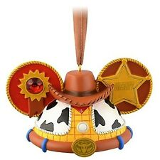 DISNEY EAR HAT ORNAMENT - WOODY from TOY STORY Limited Edition/RARE