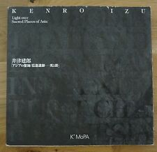 SIGNED - KENRO IZU - LIGHT OVER SACRED PLACES OF ASIA - 1ST EDITION & 1ST PRINT