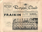 Royal Club Liegeois v. Arsenal 18/12/1963 Fairs Cup