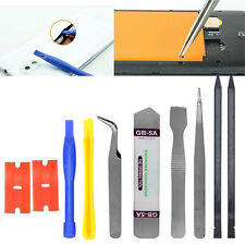 10 in1 Mobile Phone Repair Opening Pry Tool Set Spudger Tweezer Kit for iPhone 6