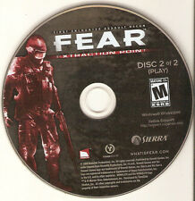 F E A R fear Extraction Point replacement CD Disc #2 TWO only for the PC IBM !