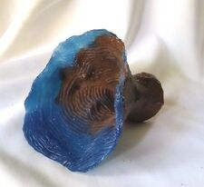 [New] Reef Builder Elephant Ear Blue Fish Tan Aquariums Decorations - COR618C