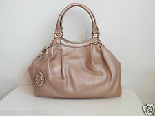 GUCCI Donna Borsa Handbag Authentic Sukey Leather Tote Bag NUOVO