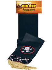 Pirate Waist Sash Buccaneer Sparrow Jack Halloween Fancy Dress Accessory New