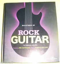 Masters of Rock Guitar 2010 Brand-New Book! Great Pictures! Nice See!
