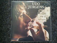 Udo Jürgens - Qui est-il?/ Mayerling 7'' Single SUNG IN FRENCH