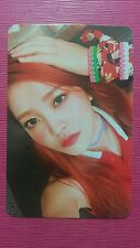 RED VELVET YERI Official Photocard RUSSIAN ROULETTE 3rd Album Photo Card 예리