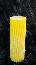70hr LIMES, FIGS & CAJU FRUIT Natural Triple Scented SPIRAL ARTISAN Eco CANDLE