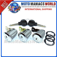 PEUGEOT PARTNER CITROEN BERLINGO Door Lock Barrels & Keys LOCK SET 3 pcs NEW !!!