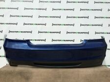 BMW 1 SERIES E82 E88 COUPE AND CONVERTIBLE REAR BUMPER IN BLUE [B327]