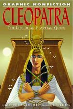 Cleopatra: The Life Of An Egyptian Queen (Graphic Nonfiction)-ExLibrary