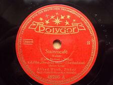 W/7/13 Schellackplatte Stammcafè + Zither-Ballade – Alfred Wirth Hans Frieboes