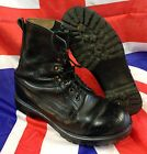 Genuine British Army Black Assault Combat Boots Grade 1 Condition Various Sizes