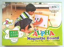 Magnetic WhiteBoard Greenboard Alphabets & Numbers Preschool Age 2+ Toddler Gift
