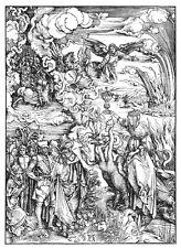 The Whore of Babylon by  Albrecht Dürer Print