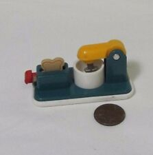 New FISHER PRICE Loving Family Dollhouse STAND KITCHEN MIXER BREAD TOASTER FOOD