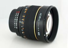 Rokinon 85mm F1.4 Aspherical Camera Lens for Nikon AE with Automatic : 85MAF-N
